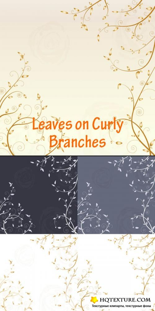 Vector – Leaves on Curby Branches