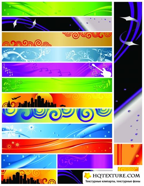 Abstraction banners