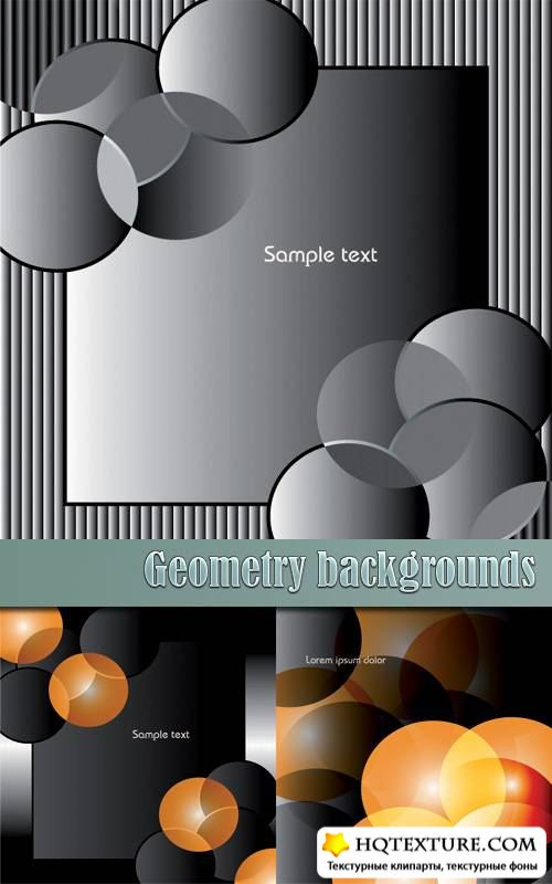 Geometry backgrounds