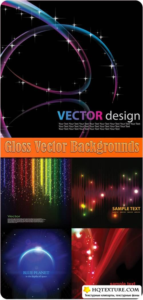 Gloss Vector Backgrounds