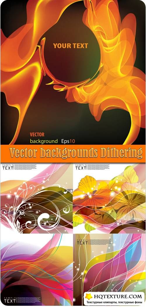 Vector backgrounds Dithering