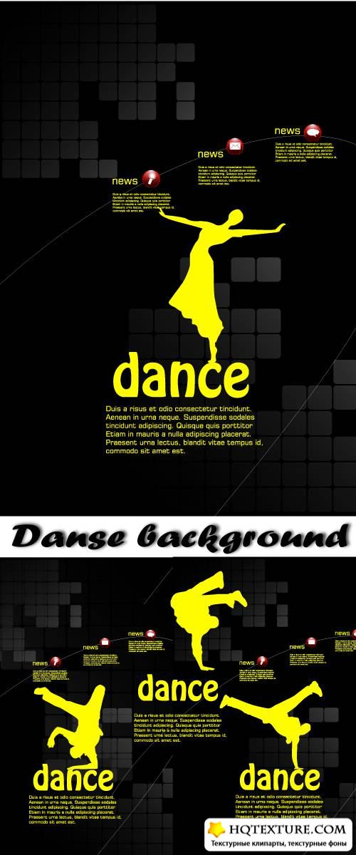 Danse background