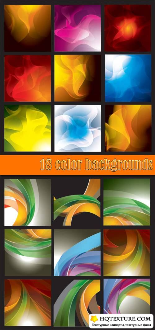 18 color backgrounds