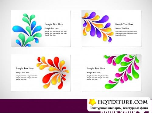Stock Vector - Abstract Cards