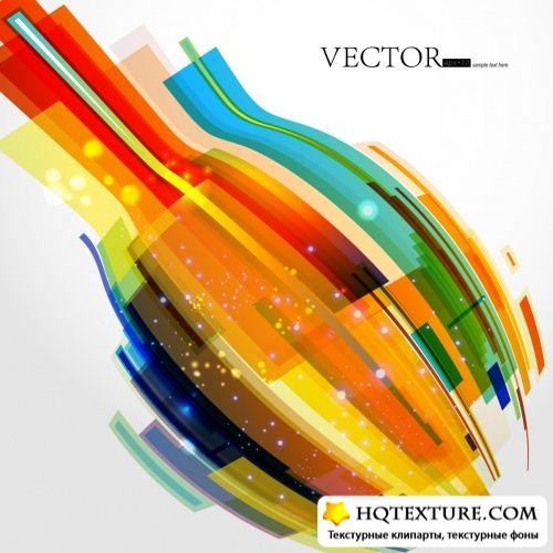 Abstract Color Backgrounds Vector