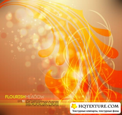 Abstract Flourish Backgrounds