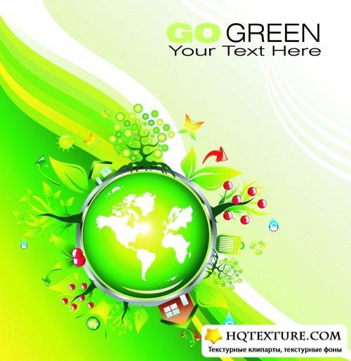 Environmental Backgrounds Vector