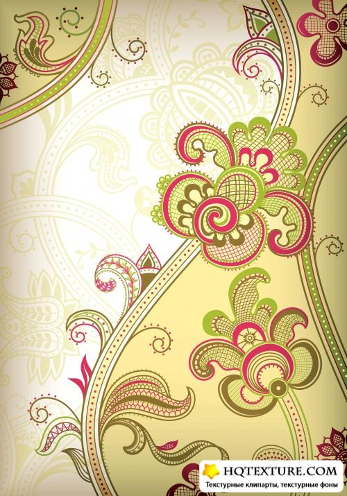 Flower design backgrounds