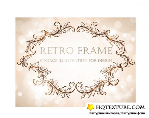 Stock Vector - Decorative Retro Frames 2