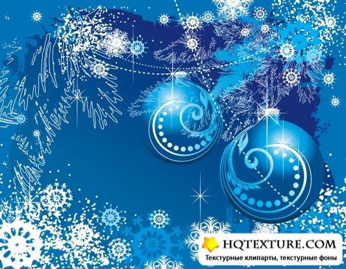 Winter vector backgrounds