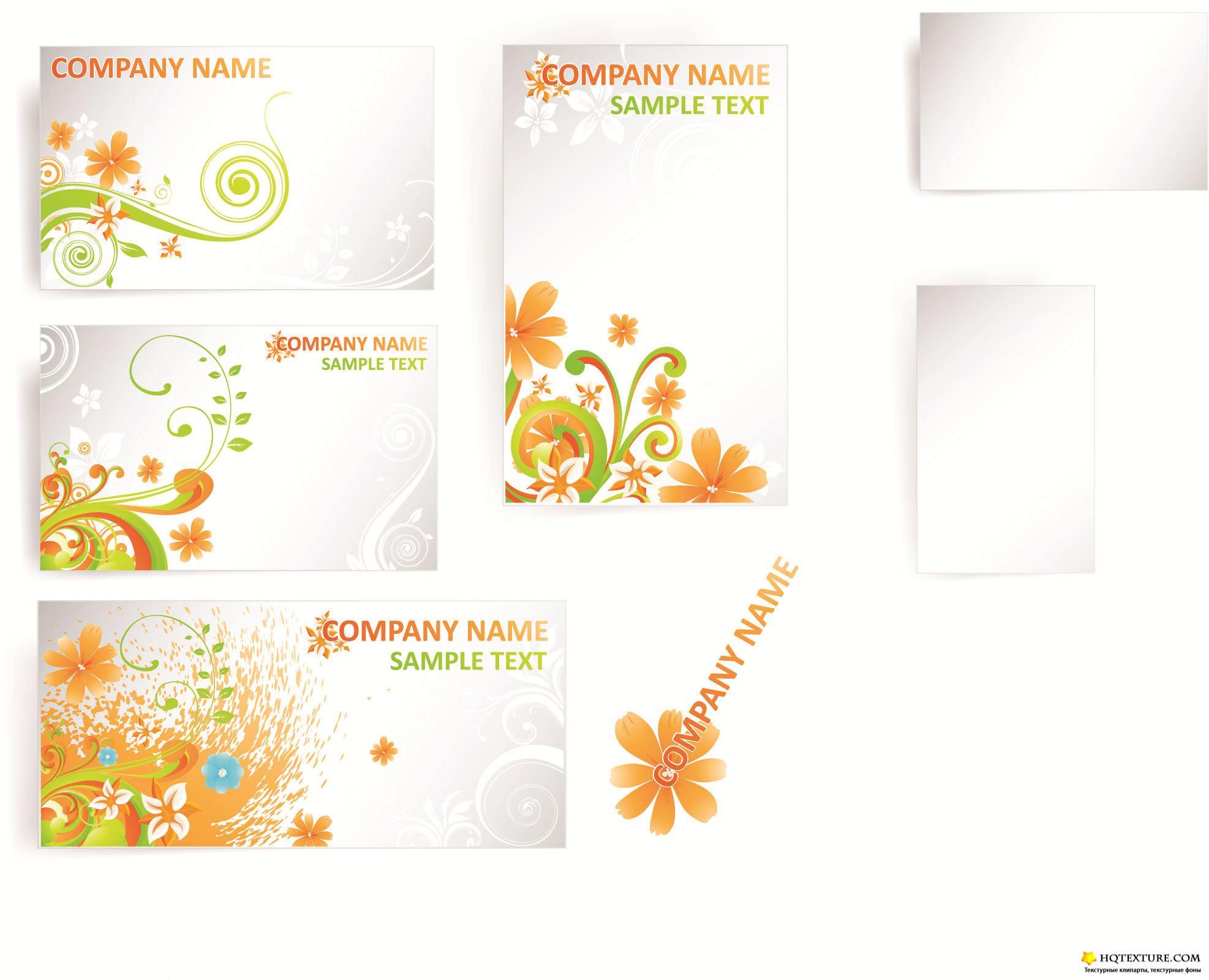 Как сделать шаблоны для визитки