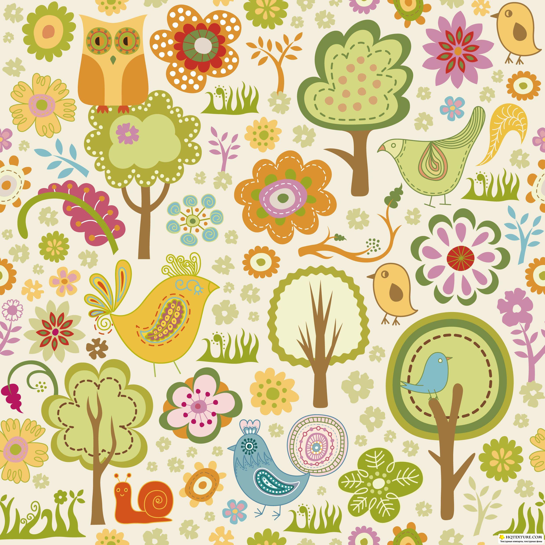 Фон цветочный для скрапбукинга