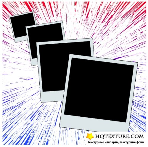 Stock Vector - Palaroid Set