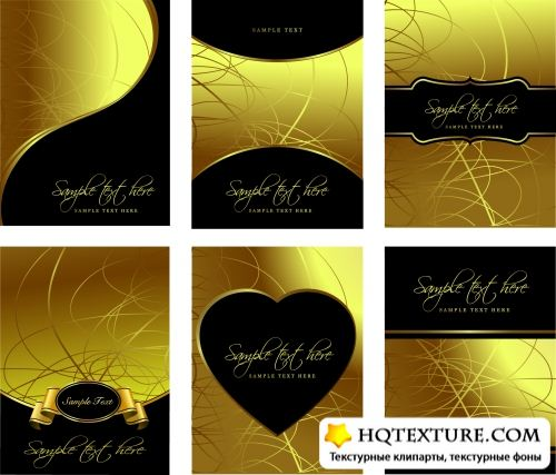 Stock Vector - Golden Templates