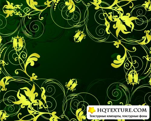 Vector floral background