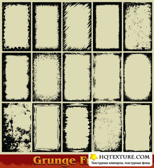 Stock_Vector___Grunge_Frames_15,5 MB