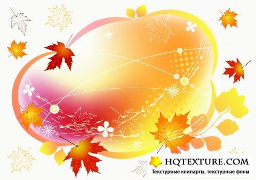 Autumn Frames Vector