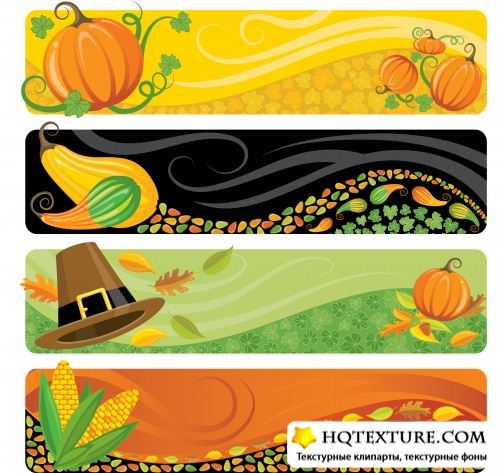 Harvest banners