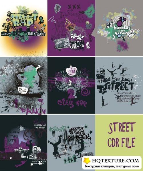 Street Background Vectors