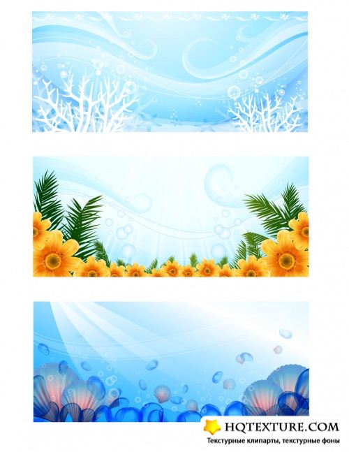 Water Theme - Horizontal Backgrounds