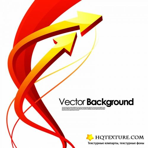 Vector backgrounds arrow vol.4