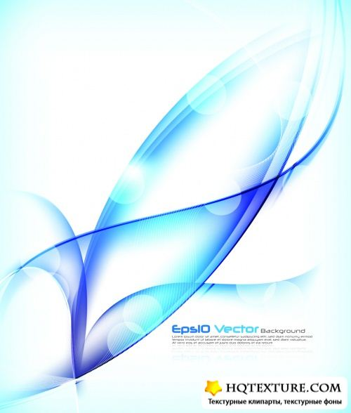 Blue Backgrounds Vector 2