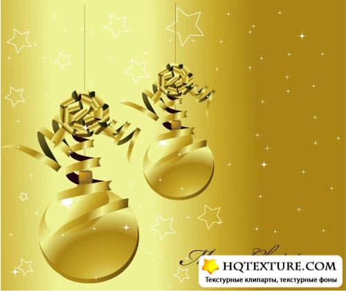 Stock: Christmas Background Vector Illustration