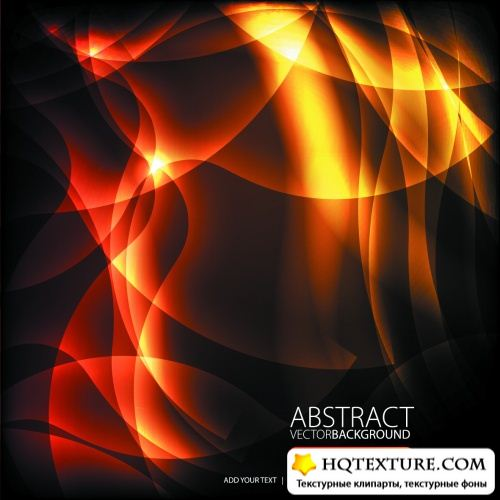 Fire Abstract Backgrounds Vector
