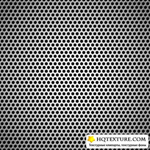 Metal Grid Backgrounds Vector