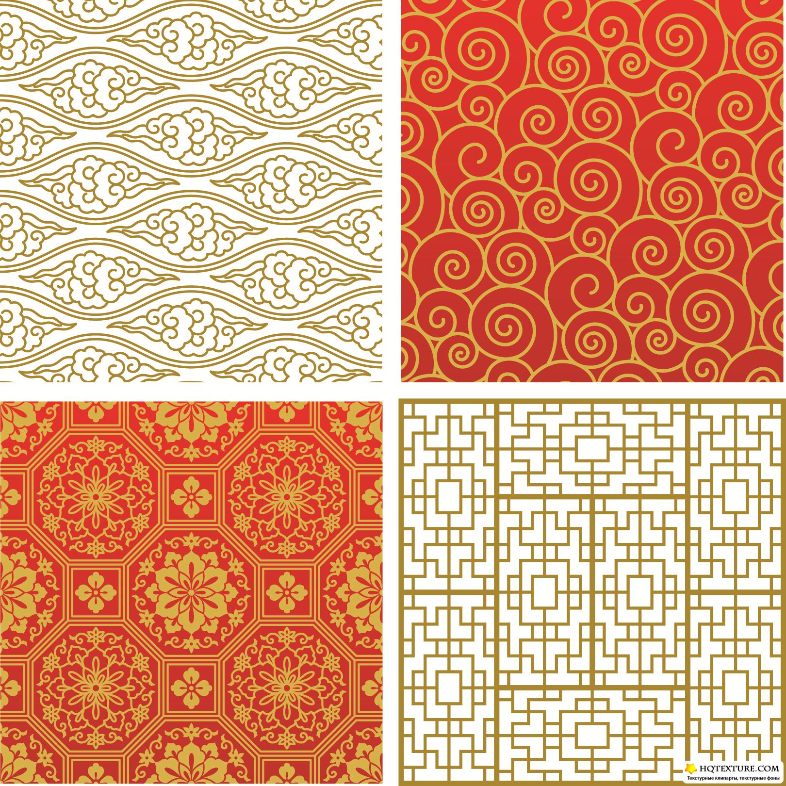 Chinese Patterns Vector Chinese Pattern ve