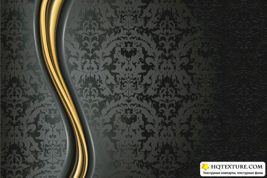 elegant gold and black wallpaper