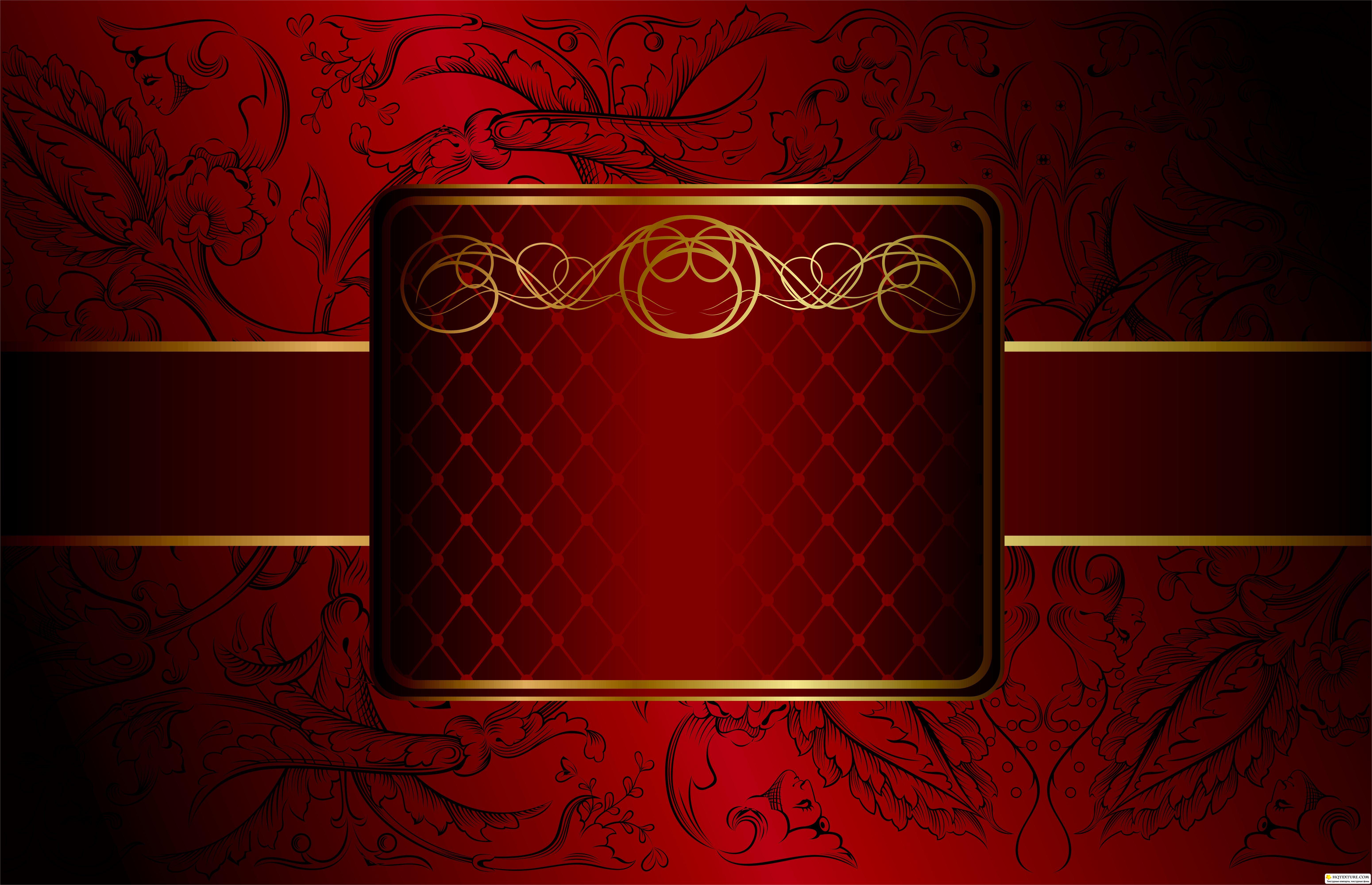 Золото с красным фон для фотокниги