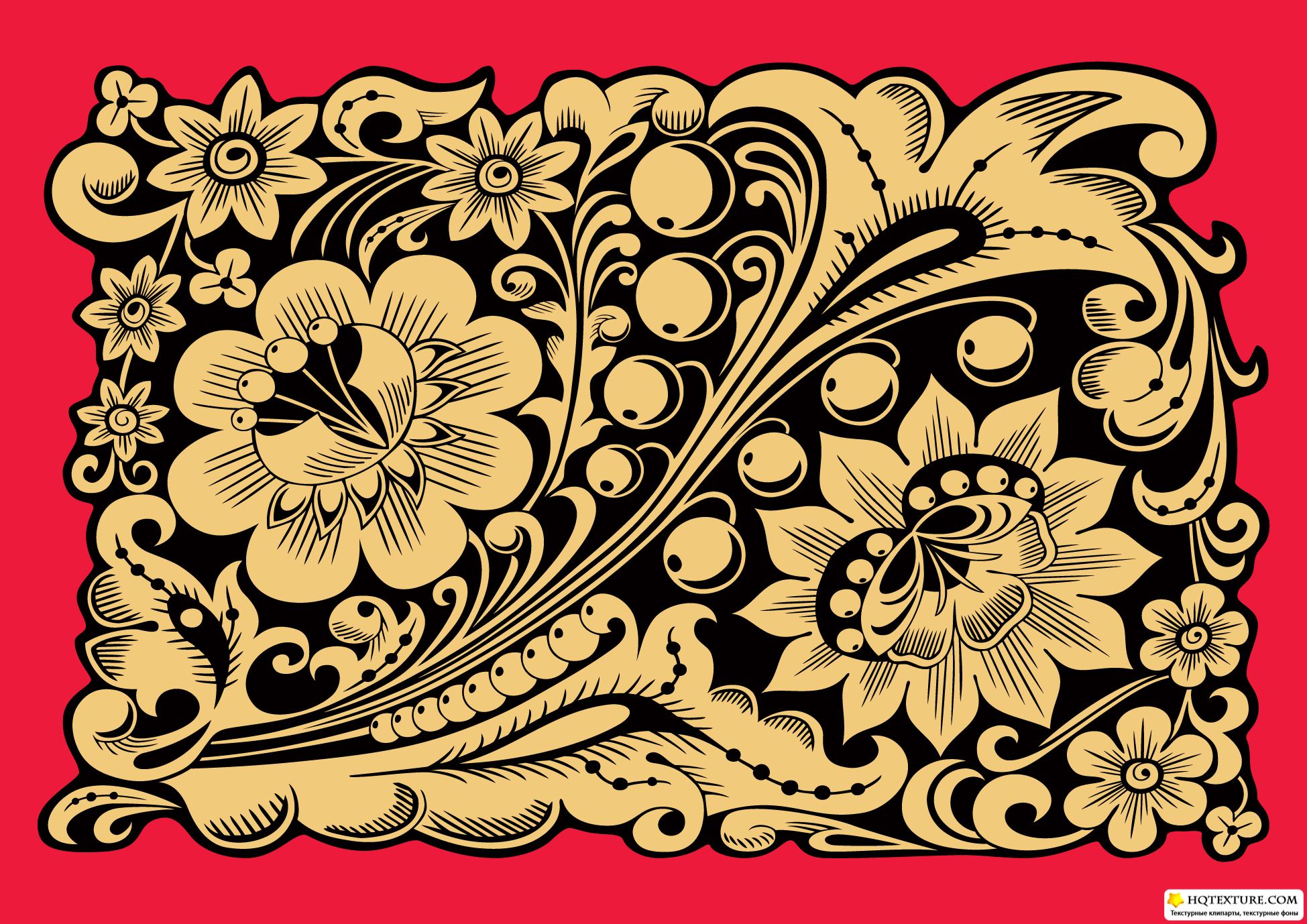 Russian ornaments stock vectors русские узоры