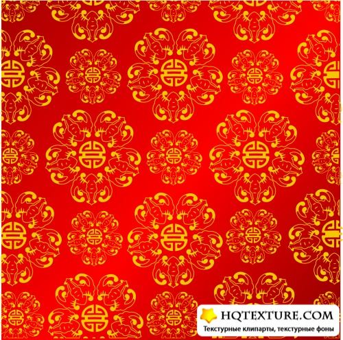 Chinese Patterns Vector