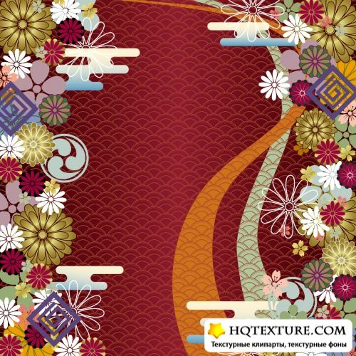 Japanese Patterns Vector
