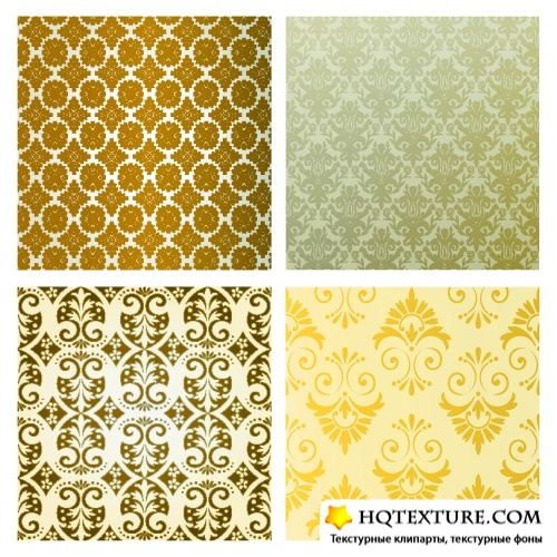 Bronze Royal Patterns Vector