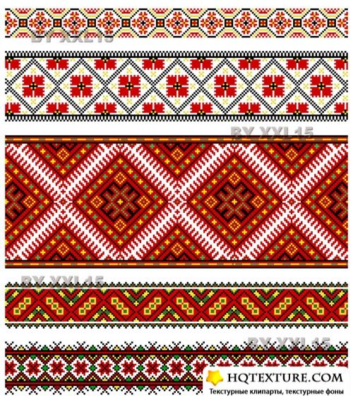 Ethnic embroidery ornaments 2