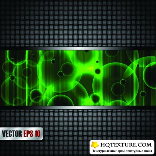 Dark Metal Backgrounds Vector