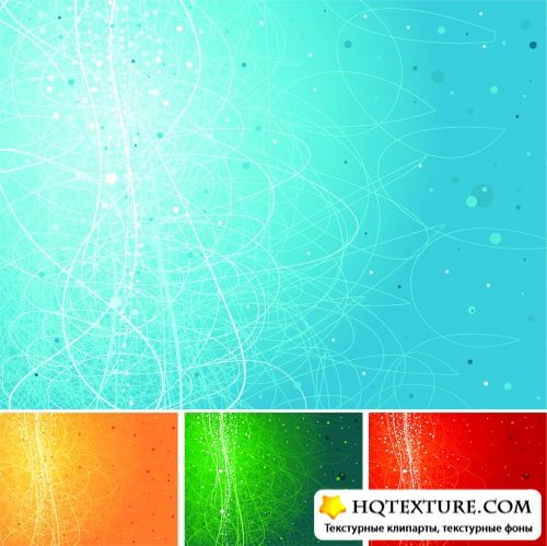 Color Lines Patterns Vector