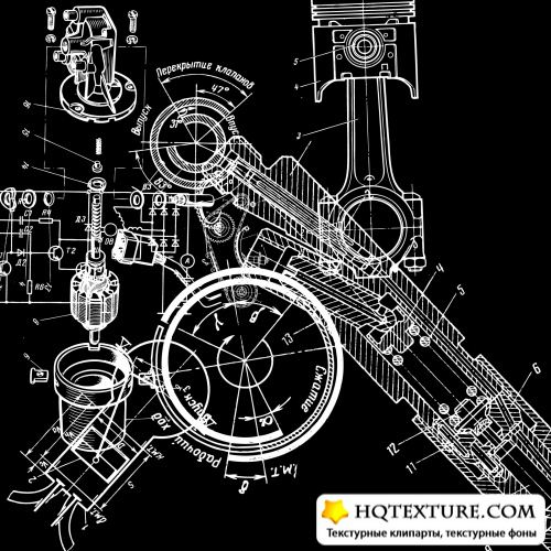 Technical Drawing Vector