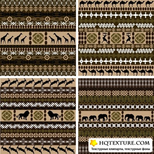 Stock Vector - African Backgrounds