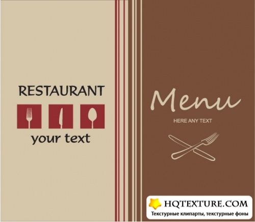 Stock Vector - Restaurant Menu Design 3