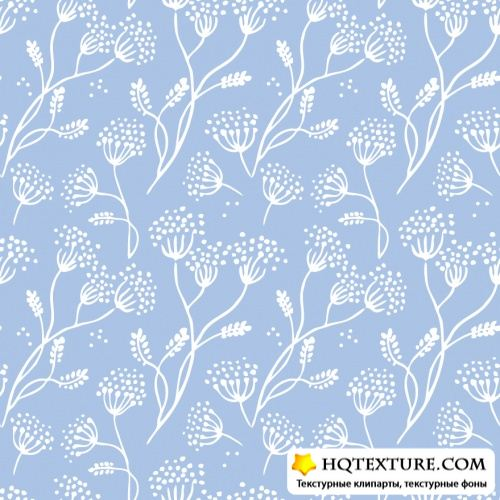 Stock Vector - Retro Floral Patterns