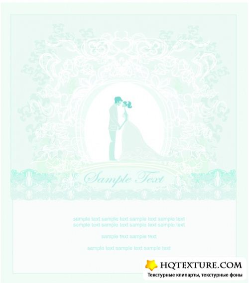 Wedding vector background