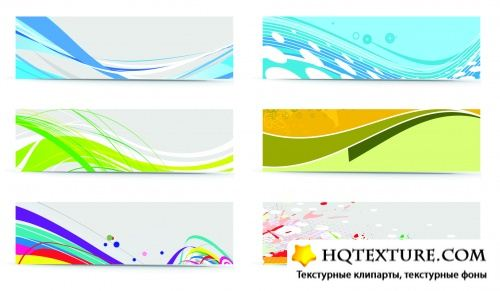 Abstract Color Banners Vector 2