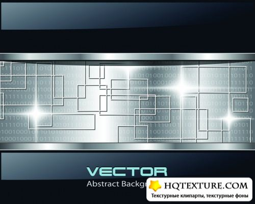 Modern Tech Backgrounds Vector