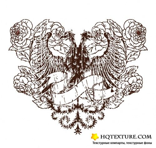 Stock Vector - Vintage Ornate Emblems