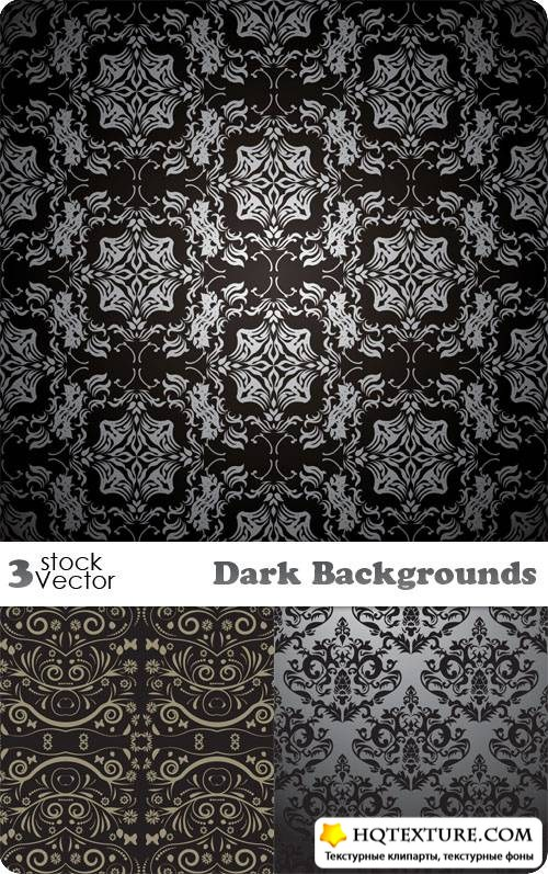 Dark Backgrounds Vector