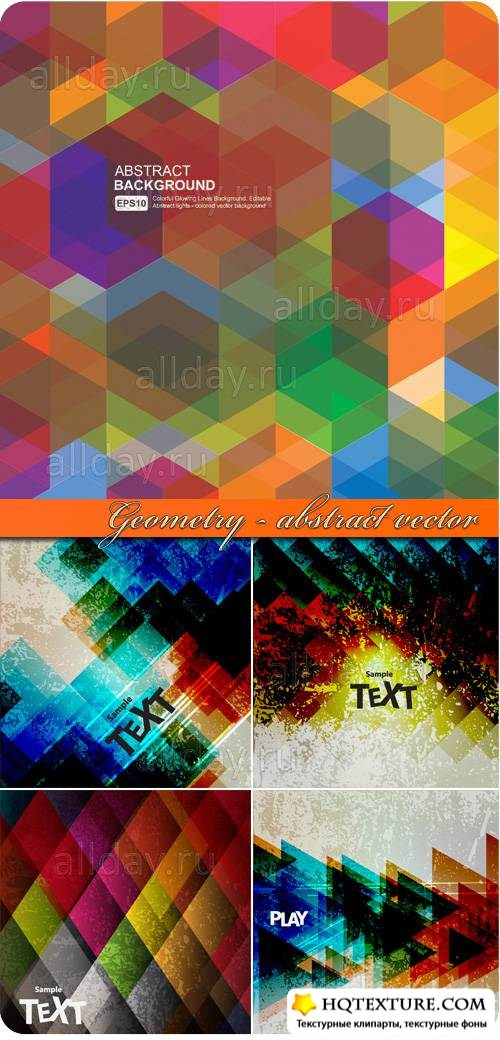 Geometry - abstract vector background