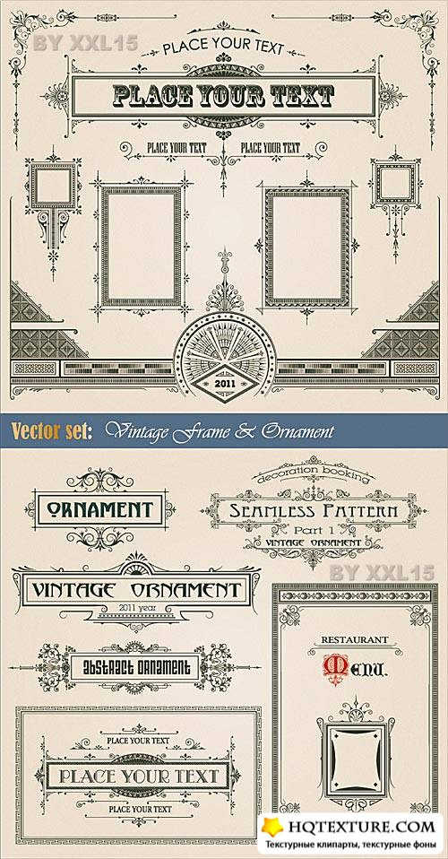 Vintage decorative elements 2